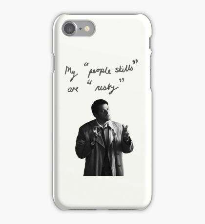 "My ""people skills"" are ""rusty"" Ipod iPhone Case/Skin"