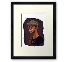 Portrait of Fred Framed Print