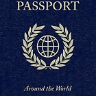 around the world passport by maydaze