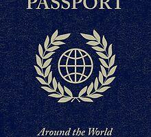 around the world passport by maydaze