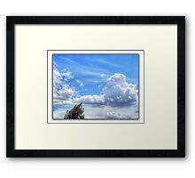 ©HCS Windy And Blue Framed Print