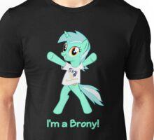 Lyra is a Brony! Unisex T-Shirt