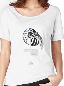 *G E O M E T R I A* Nautilus Women's Relaxed Fit T-Shirt
