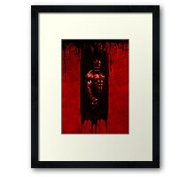 Bane crushes Framed Print