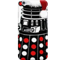 Dalek The Halls - Reindeer dalek santa iPhone Case/Skin
