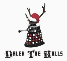 Dalek The Halls - Reindeer dalek santa by Winkham
