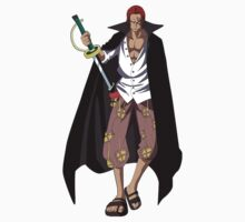 Shanks one piece by VirtualMan