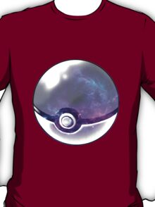 Galaxy Pokeball. T-Shirt