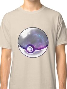 Galaxy Pokeball. Classic T-Shirt