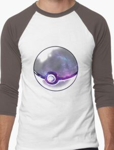 Galaxy Pokeball. Men's Baseball ¾ T-Shirt