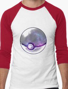 Galaxy Pokeball. Men's Baseball ¾ T-Shirt