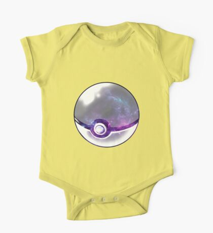 Galaxy Pokeball. One Piece - Short Sleeve