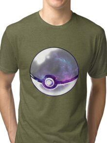 Galaxy Pokeball. Tri-blend T-Shirt