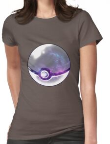 Galaxy Pokeball. Womens Fitted T-Shirt