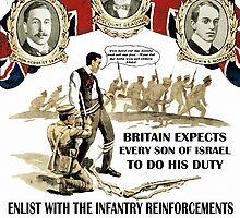 Jewish Army Recruitment Poster WW1 by MoisheZ