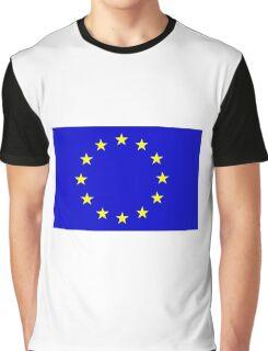 European Flag Graphic T-Shirt