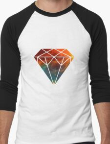 Galaxy Diamond Men's Baseball ¾ T-Shirt