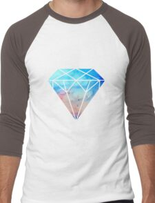 galaxy diamond Men's Baseball ¾ T-Shirt