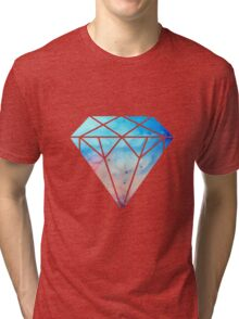 galaxy diamond Tri-blend T-Shirt
