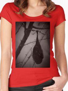 Bat Tee/Hoodie Women's Fitted Scoop T-Shirt