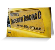 Trotters Independent Trading Co Greeting Card