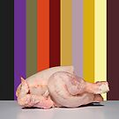 Vanitas,Chicken stripes by sue skitt
