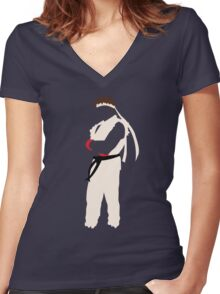 Ryu Women's Fitted V-Neck T-Shirt