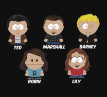 How I Met Your Mother - South Park by YouKnowThatGuy