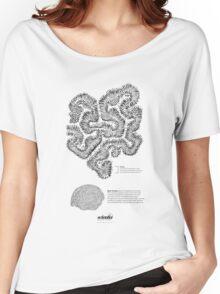 *G E O M E T R I A* Brain Coral Women's Relaxed Fit T-Shirt