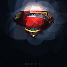 Superman - Man of Steel logo by lazylaves