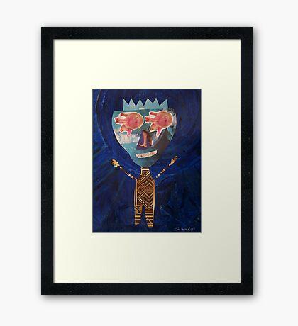 Monsieur Grandorex Framed Print