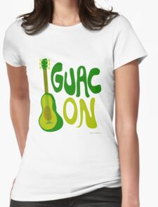 Guac on! Womens Fitted T-Shirt