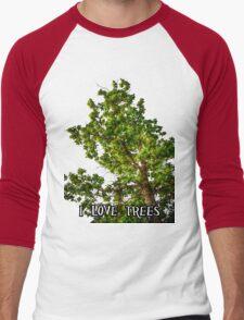 I love trees Tee/Hoodie Men's Baseball ¾ T-Shirt