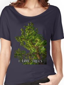 I love trees Tee/Hoodie Women's Relaxed Fit T-Shirt
