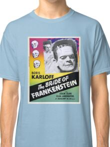 The Bride of Frankenstein Classic T-Shirt