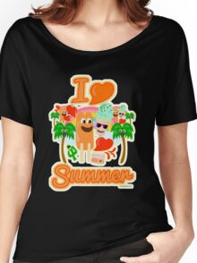I Heart Summer Women's Relaxed Fit T-Shirt