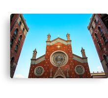 St. Anthony of Padua Church  Canvas Print