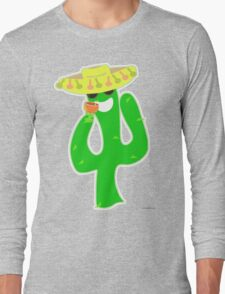 Party On Party Cactus Long Sleeve T-Shirt