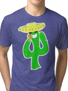Party On Party Cactus Tri-blend T-Shirt