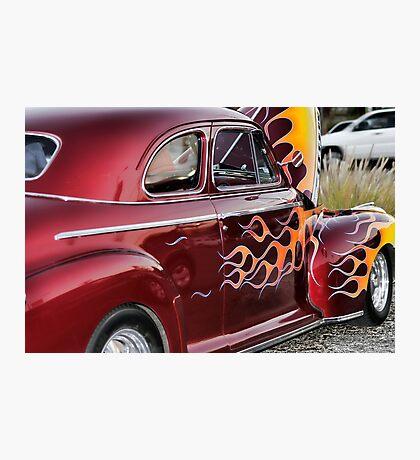 Flaming Photographic Print