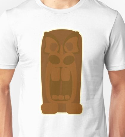 Angry Tiki God Unisex T-Shirt
