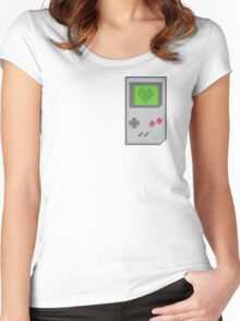 Gamer at heart Women's Fitted Scoop T-Shirt