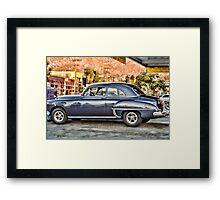 Oldsmobile in HDR Framed Print