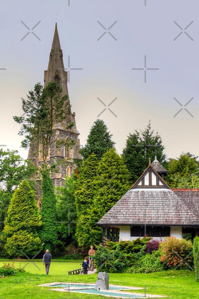 Ambleside Parish Church by Tom Gomez
