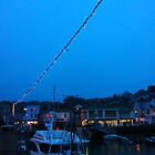 Christmas lights in Padstow by HollieNewman