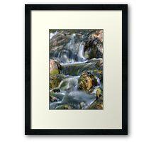 Running Waters Framed Print