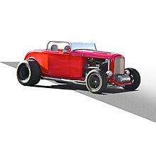 1932 Ford 'Little Red' Roadster Photographic Print