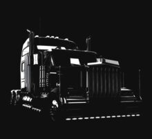 Super Semi Truck by hottehue