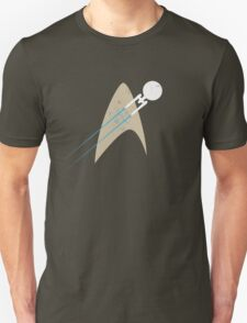 Boldly Go... - blue T-Shirt