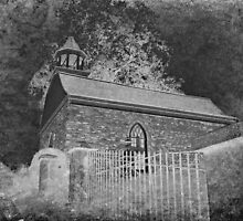 Old Dutch Reformed Church of Sleepy Hollow, New York by Jane Neill-Hancock